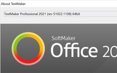 SoftMaker Office 2021 rev 1022.1108 has been released