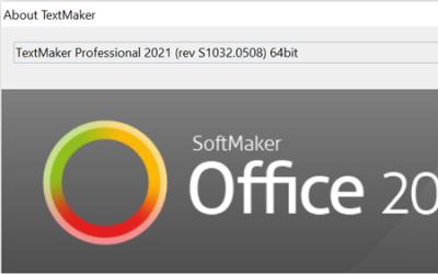 SoftMaker Office 2021 rev 1032.0508 has been released