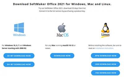 Installing SoftMaker Office 2021 for Linux