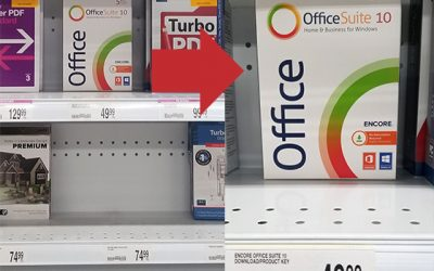 Office Suite 10 is now available in OfficeMax and  Office DEPOT stores