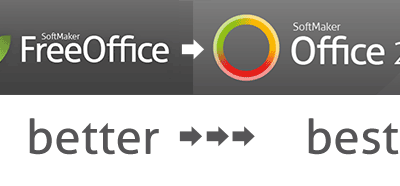 SoftMaker FreeOffice 2021 vs SoftMaker Office Standard and Professional 2021
